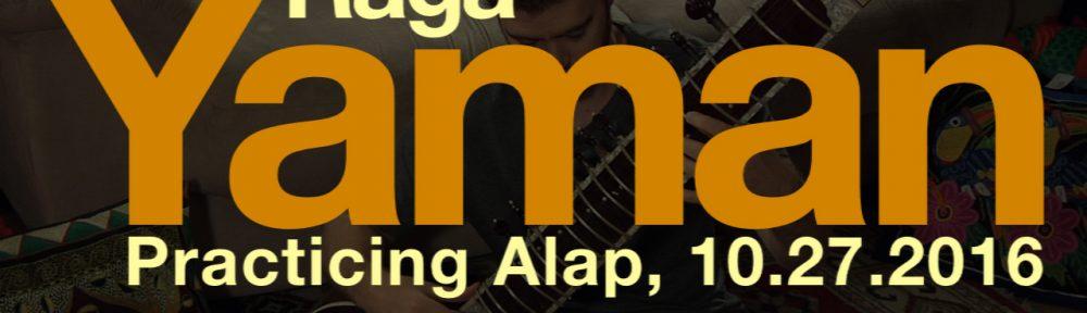 raga yaman alap practice