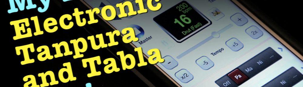Electronic Tanpura with Tabla
